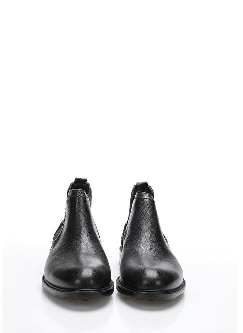 İnci Deri Bot Siyah